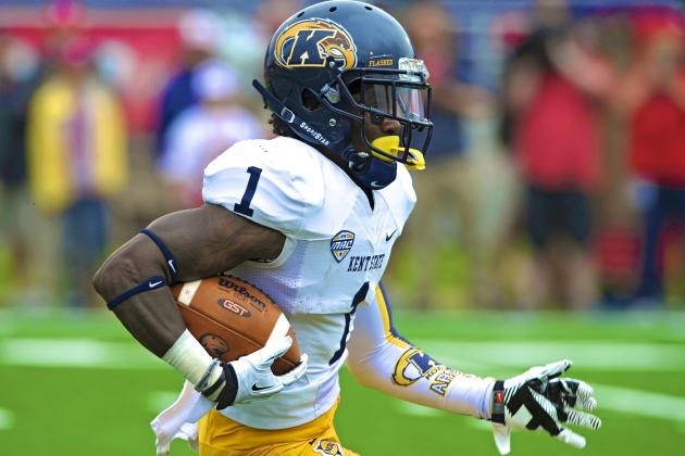 Meet the NFL Draft's Fastest Offensive Weapon, Dri Archer
