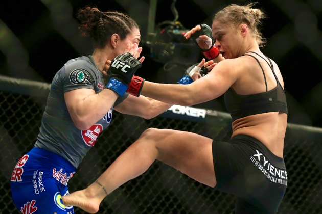 UFC 170: Early Stoppage Robs Ronda Rousey and Sara McMann of Their Moment