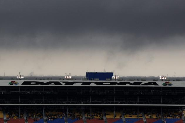 Daytona 500 Rain Delay Causes a Lot of Confusion on Internet