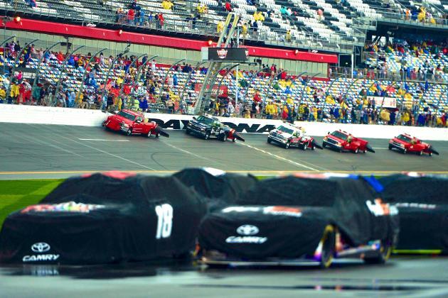 Daytona 500 Rain Delay Causes a Lot of Confusion on Internet