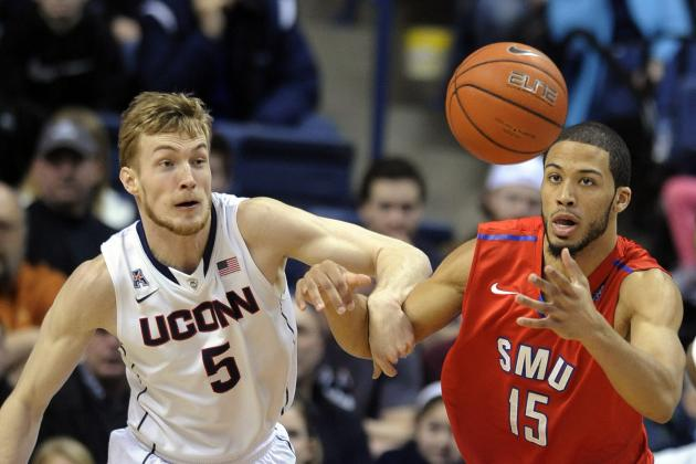 UConn Goes Cold from the Field in 64-55 Loss to SMU