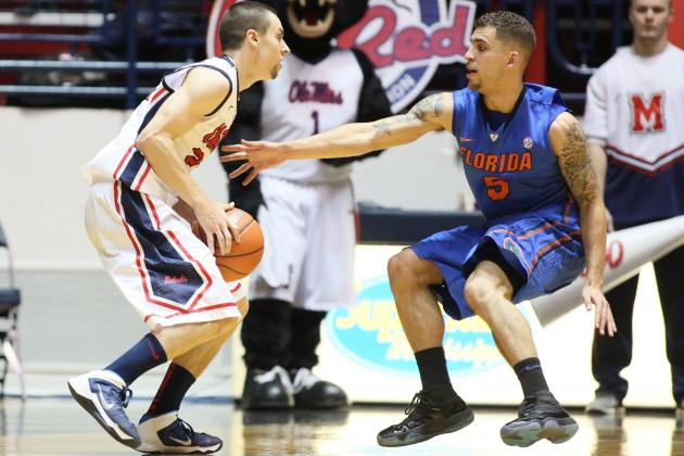 Mississippi's Marshall Henderson Matches SEC Record with 60-Game Trey Streak