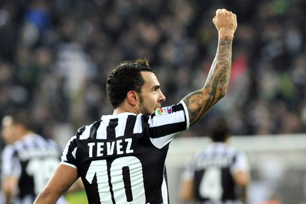 Carlos Tevez Wins the Hearts of Juventus Fans with Derby Della Mole Winner