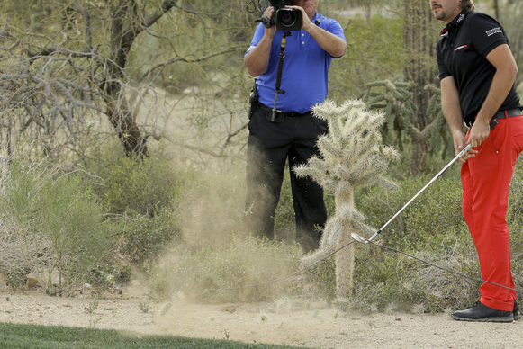 Victor Dubuisson Amazes Golf Fans at the WGC-Accenture Match Play