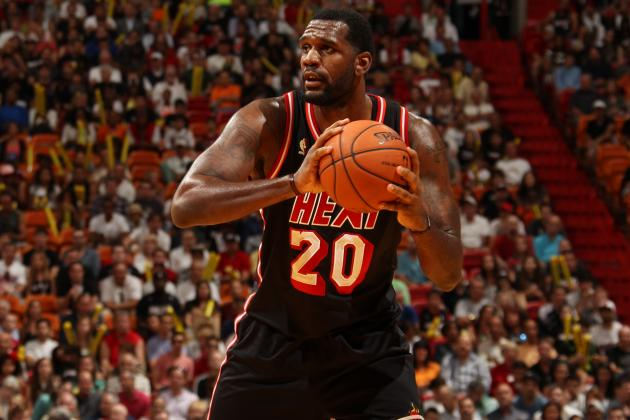 Greg Oden Makes First NBA Start Since 2009, Replacing LeBron James in Lineup