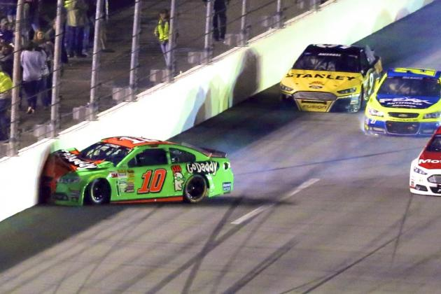 Daytona 500 2014: Danica Patrick Involved in 13-Car Wreck on Lap 146
