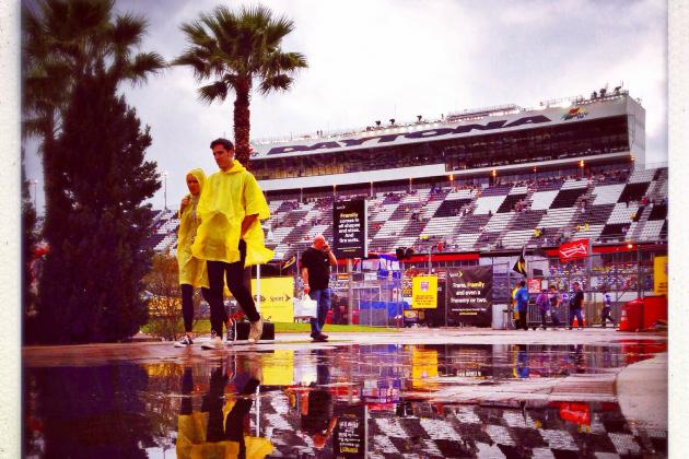 How the Lengthy Weather Delay Completely Changed the 2014 Daytona 500