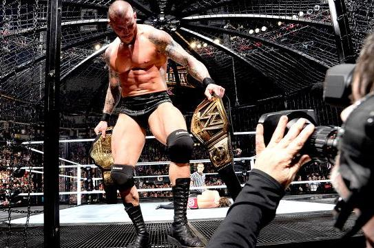 WWE Elimination Chamber 2014 Results: Orton-Batista Set Following Chamber Match