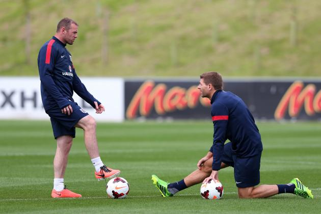 Wayne Rooney Told He Will Replace Steven Gerrard as England Captain