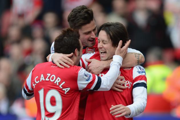 Tomas Rosicky Agrees New Arsenal Contract, but Gunners Warned over Bacary Sagna