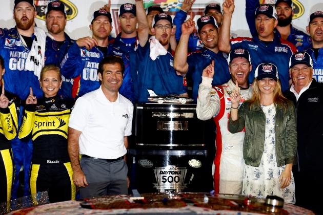 Dale Earnhardt Jr.'s Girlfriend Amy Reimann Comments on Historic Daytona 500 Win
