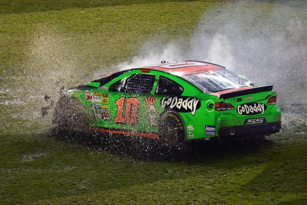 Danica Patrick Comments on Crash and Dale Earnhardt Jr's Win at 2014 Daytona 500