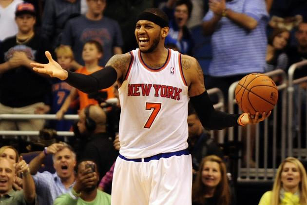 Carmelo Anthony Admits His Optimism Is 'Definitely Being Tested' in Awful Season