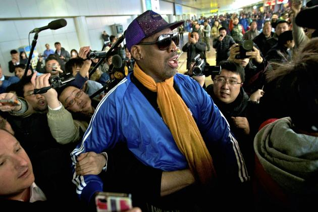Report: Movie Based on Dennis Rodman's North Korea Trips in Development