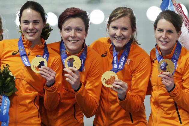Dutch Speedskaters Conclude Dominant Effort at Sochi Olympics with 23 Medals