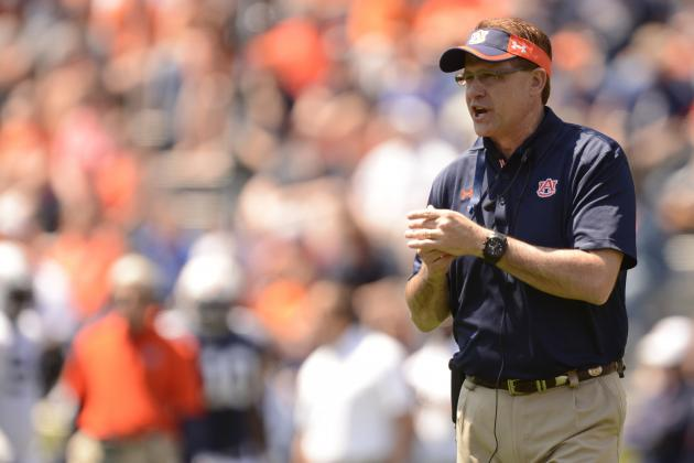 Malzahn Hoping Tigers Can Top Record 2013 a-Day Attendance