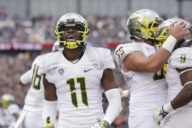 Oregon Football: WR Bralon Addison Set for Monster 2014 Season