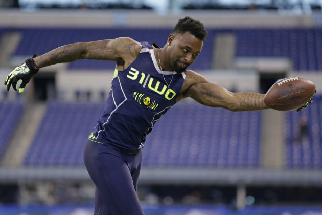 Slow 40 Time Might Not Hurt Jarvis Landry in Draft