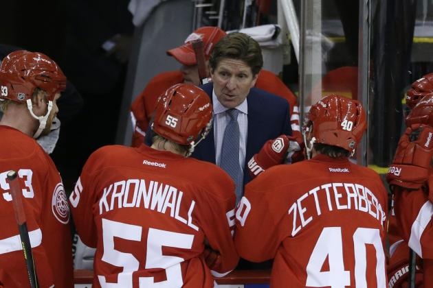 With Sochi Olympics Over, Detroit Red Wings Now Shift Focus to Playoff Push