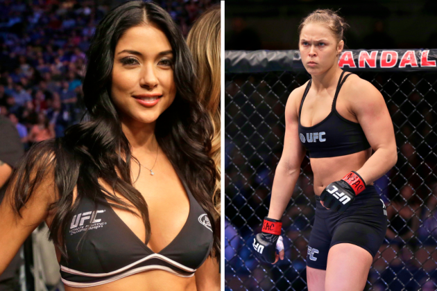 UFC Octagon Girl Arianny Celeste Slams Ronda Rousey's Behavior