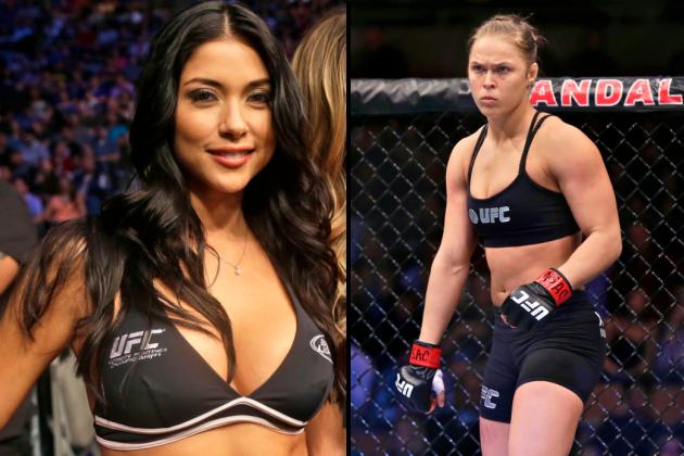 UFC Octagon Girl Arianny Celeste Slams Ronda Rousey's Behavior