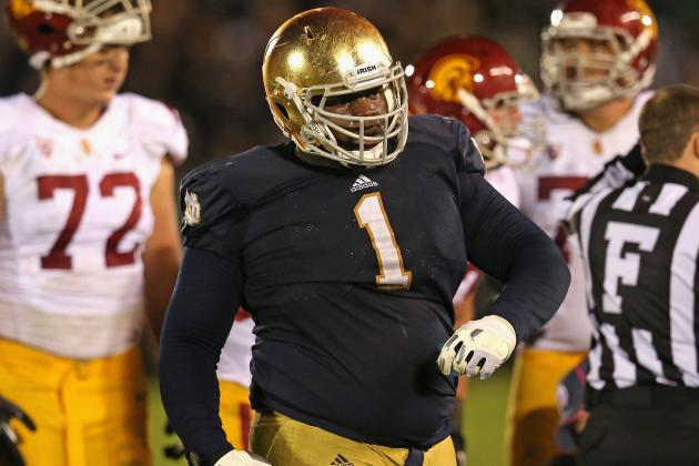"""Video: Notre Dame's Louis Nix on Weight Loss: """"I Just Feel Sexier"""""""