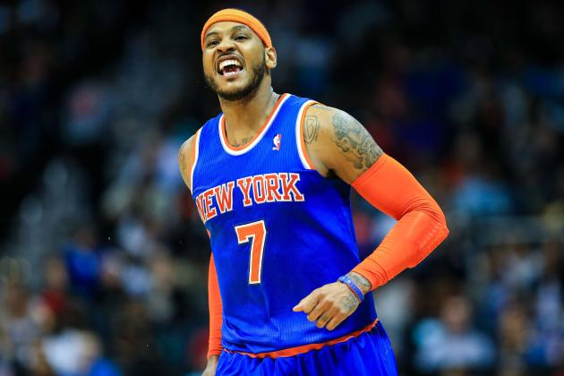 Carmelo Anthony a Challenge for Mavs