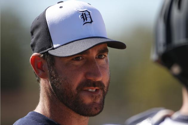 Justin Verlander Returns to Lineup in Spring Training Game vs. Blue Jays
