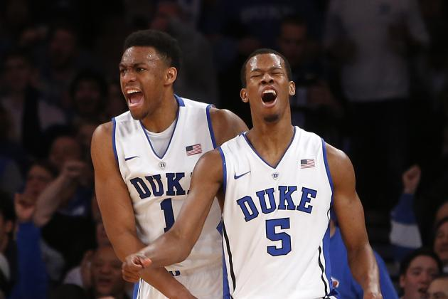 Jabari Parker, Rodney Hood Need to Continue Clutch Play for Duke