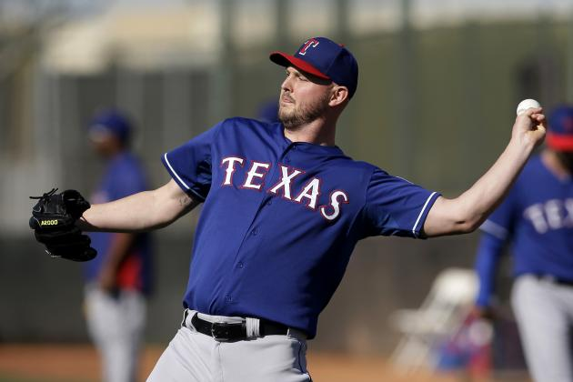 Rangers Get 'Good News,' on Matt Harrison, Expect Him to Miss Start of Season