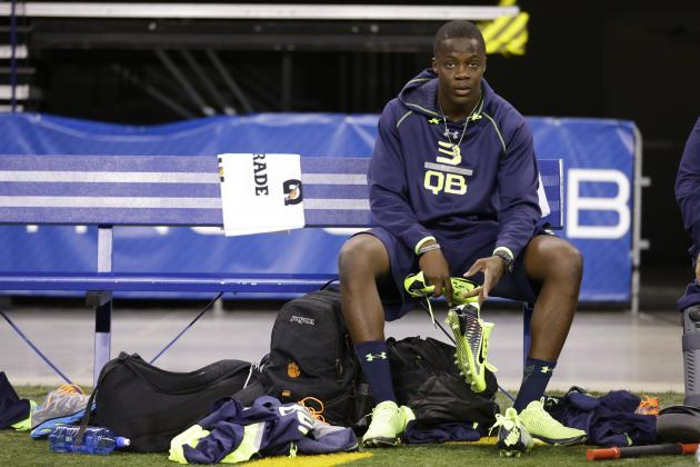 Teddy Bridgewater Missed Opportunity to Improve NFL Draft Stock at Combine