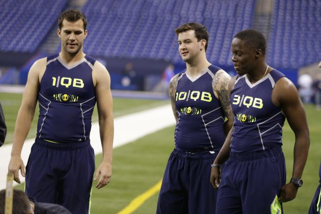 2014 NFL Mock Draft: Complete Look at First Round Following Scouting Combine