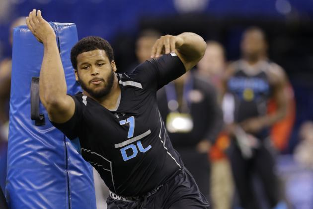 NFL Combine 2014: Prospects Who Bolstered Draft Stock with Excellent Showings