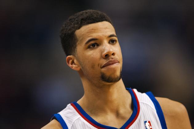 NBA VIDEO: Michael Carter-Williams Finishes Hard at the Rim