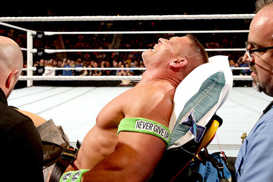 Report: Cena Legitimately Injured During Raw?