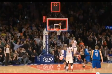 Dirk Nowitzki Gets Shooter's Bounce on Game-Winner Against New York Knicks