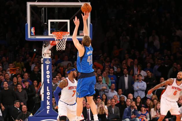 Anthony Did the Best He Could on Nowitzki's Game-Winner