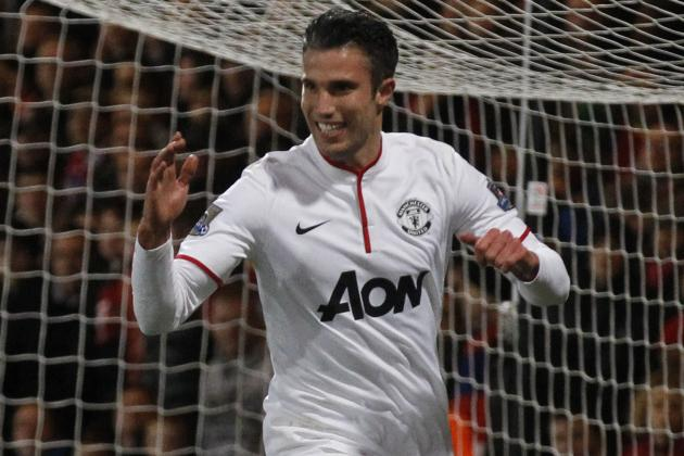 David Moyes Hypes Robin Van Persie Despite Manchester United-to-Arsenal Talk