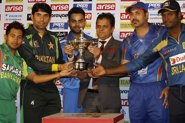 Bangladesh vs. India, Asia Cup ODI: Date, Time, Live Stream, TV Info and Preview