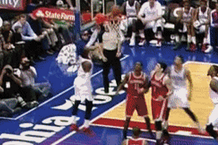 76ers Guard Tony Wroten Missed Two Dunks in a Single Half