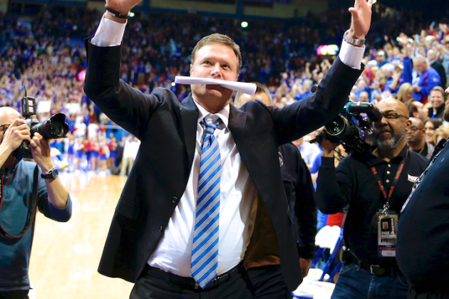 The Bill Self Effect: Kansas Coach Makes History with 10th Straight Big 12 Title