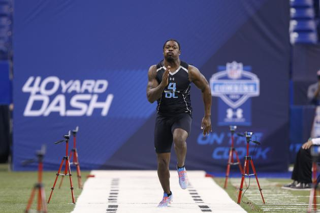 Jadeveon Clowney's Combine Solidifies Star DE as Clear No. 1 NFL Draft Prospect