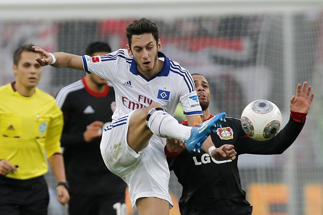 Scouting Report: Is Hamburg's Hakan Calhanoglu Good Enough for Premier League?