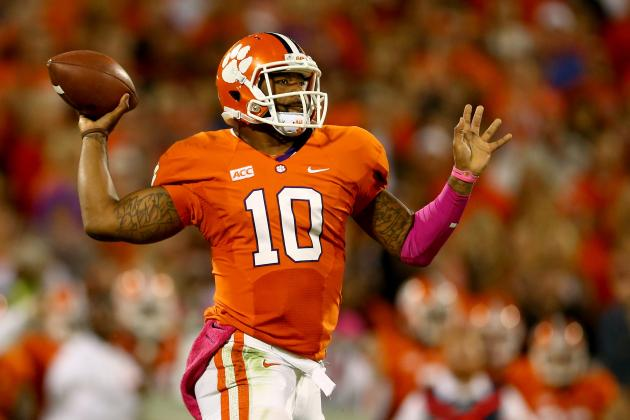 Tajh Boyd Will Become Steal of 2014 NFL Draft If He Falls to Day 3