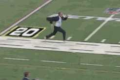 Rich Eisen Runs 40-Yard Dash at 2014 NFL Combine