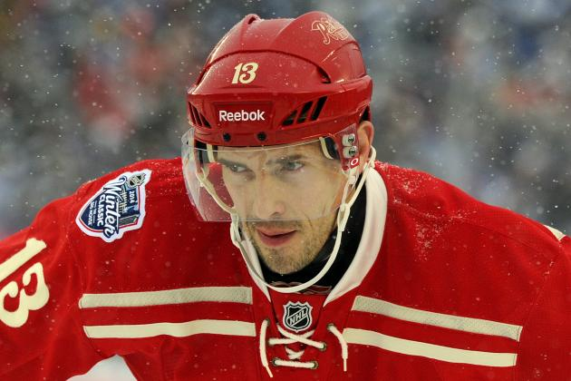 Red Wings' Stephen Weiss, Jakub Kindl Remain out
