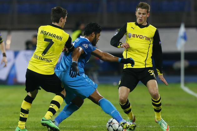 Stop Hulk, Stop Zenit: Klopp's Nullification of Brazil Star Leads BVB to Victory