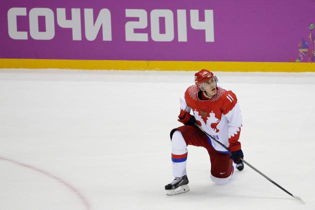 Will Evgeni Malkin's Olympic Struggles Continue When NHL Returns?
