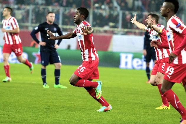 Olympiakos vs. Man United: Champions League Live Score, Highlights, Report