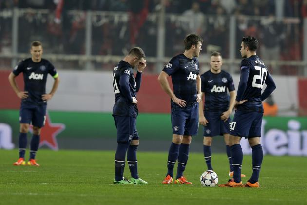 Olympiakos vs. Manchester United: Score, Grades and Post-Match Reaction
